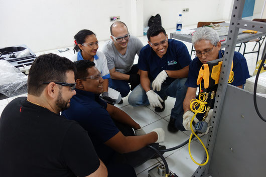 HEAT training of trainers workshop in Brazil