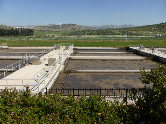 Wastewater project in Palestine