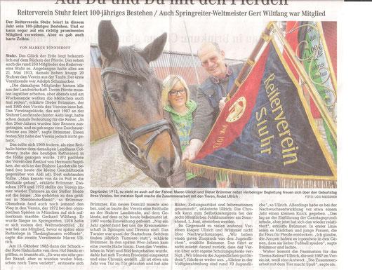 Artikel Weser-Kurier 22.05.2013