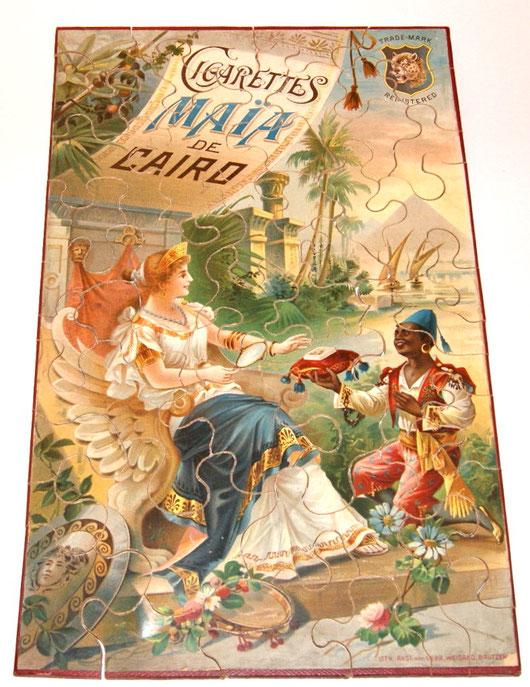MAIA CIGARETTES de CAIRO HOLZ PUZZLE