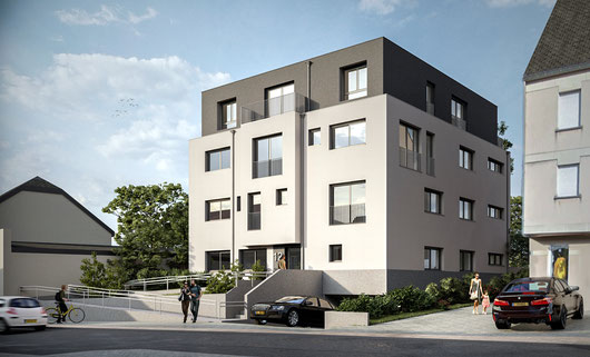 PROGRAMME NEUF - RESIDENCE B12 - BASCHARAGE - 9 APPARTEMENTS