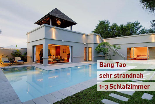 Phuket/Bang Tao: Diverse Poolvillen in Top-Resort, strandnah