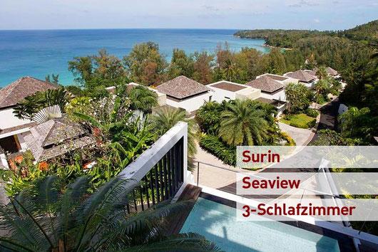 Phuket/Surin: 3stöckige Villa im Penthousestil in phantastischer Lage...