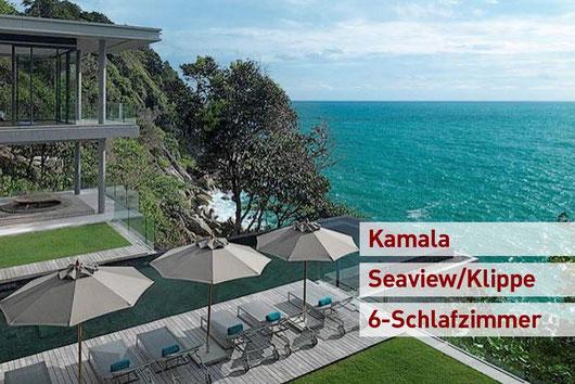 Preisgekrönte 6.-Sz.-Poolvilla uphill, Phuket/Kamala, Millionaires Mile