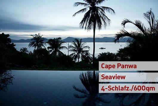Phuket/Cape Panwa: Seaview-Poolvilla mit 4 SZ auf über 600 qm