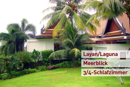 Phuket Layan/Laguna: Großzügige, sehr luxuriöse Eignervilla mit viel Privatsphäre