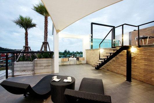 Phuket/Kamala: Div. Penthouses und Appartements