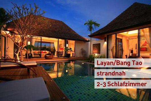 Phuket/Bang Tao: Moderne, neu errichtete 2- und 3-Schlafzimmer-Poolvillen. Preisgekrönt und dennoch preiswert!