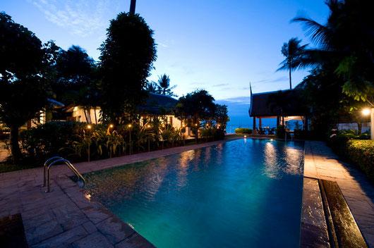 """2/5-Schlafzimmer Beach-Poolvilla """"Mae Nam Nr. 1"""" mit Chefkoch und Services..."""