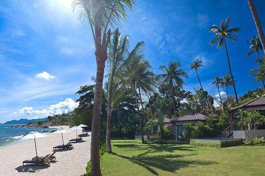 Koh Samui/Hanuman Bay: Poolvillen und -suiten an einem der schönsten Strände der Insel
