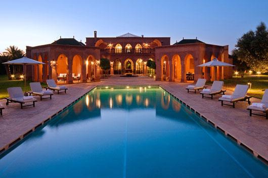 Marrakesch: Grandioser Palast mit 6 SZ und 700 qm Wohnfläche
