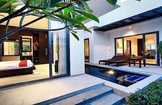 Phuket/Bang Tao: Moderne 2-Sz-Poolvilla mit ca. 180 qm Wfl.
