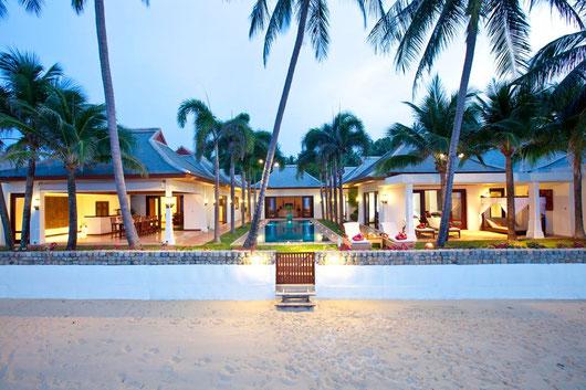 """3/5-SZ-Beachfront-Poolvilla """"MaeNam Nr. 3"""" mit Chefkoch und Services..."""