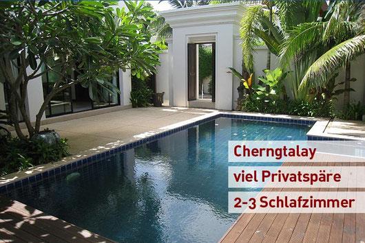 Phuket/Cherng Talay: Unweit von Bang Tao... 3-Sz.-Luxus-Poolvilla