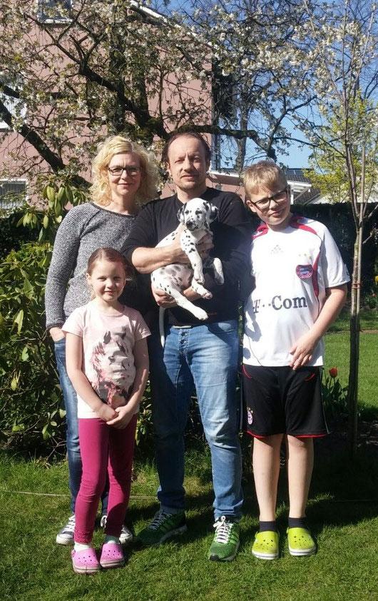 Jamie Lee vom Furlbach bleibt ganz in unserer Nähe und ist nach Schloß Holte-Stukenbrock gezogen...8 Wochen alt