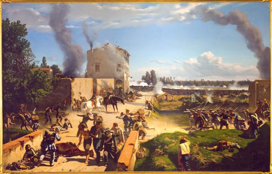 P.Senno-I Toscani a Curtatone. Campagna del1848