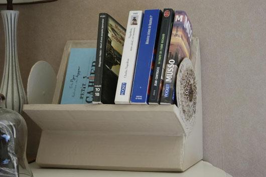 Étagère de  Chevet pour avoir les livres à porter de main