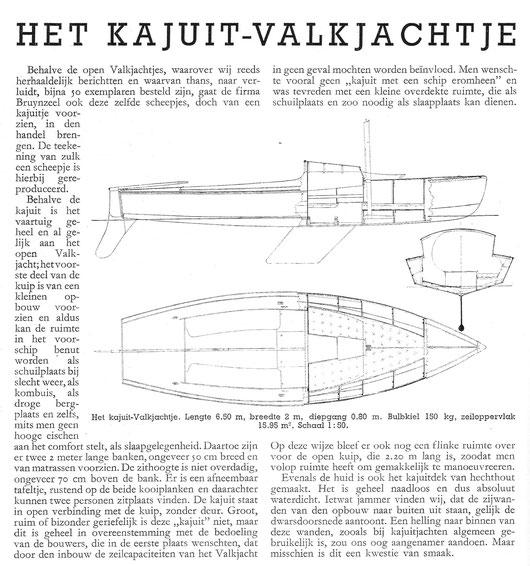 artikel uit de Waterkampioen van begin 1940