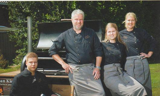 Familie Kleine - Slagerij Johan Kleine