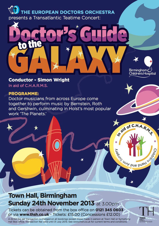 Birmingham Concert, Sunday 24th November 2013 at 3pm - Doctor's Guide to the Galaxy