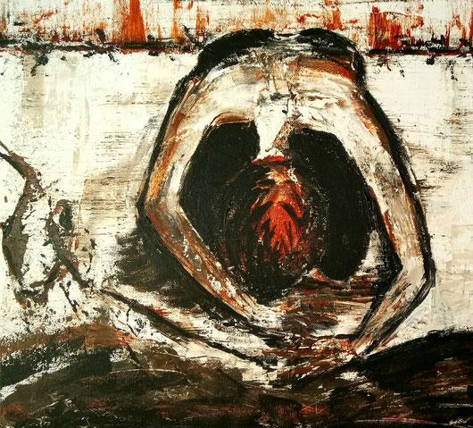 Verzweiflung, Zusammenbruch, Abfall vom Glauben, Zerbrechen an der Illusion, dysfunktionale Beziehung