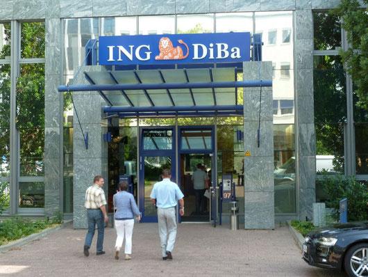 Erste Station: ING DiBa