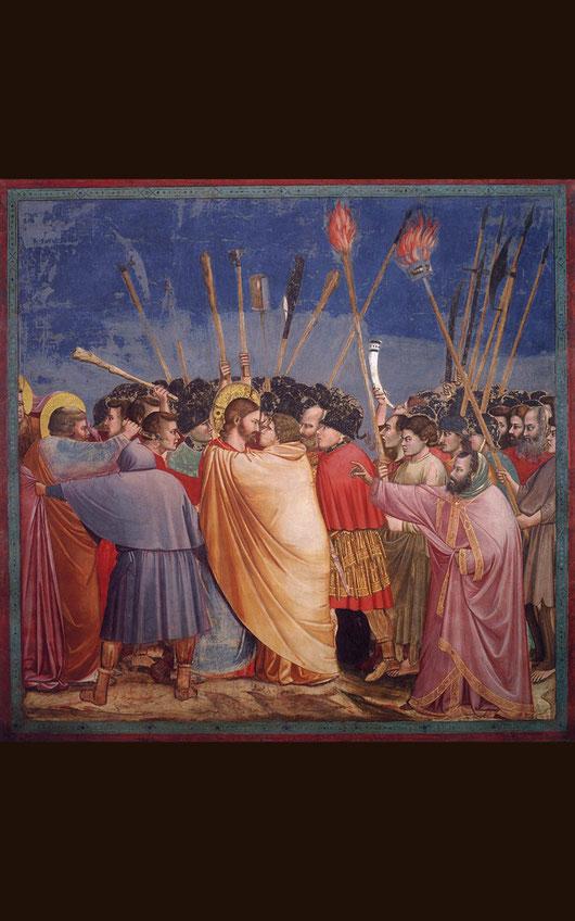 ジョット「ユダの接吻」1304年