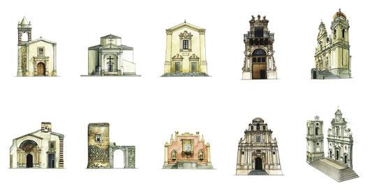 La chiesa di Sant'Antonio da Padova (Sant'Antonino) e la chiesetta del Calvario