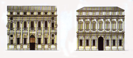 Palazzo Valmarana Braga e Palazzo Thiene Bonin Longare