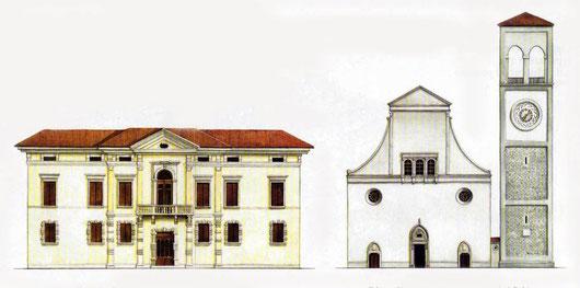 Palazzo Nordis e il duomo