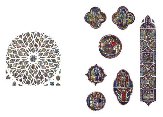 Rosone - Apocalisse di San Giovanni