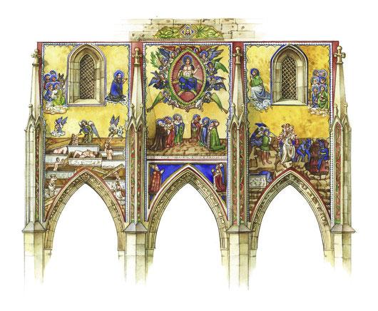 Praga - porta d'oro della cattedrale di San Vito