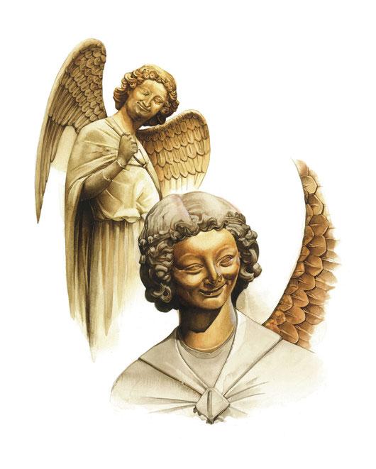l'Angelo del sorriso e l'Arcangelo Gabriele