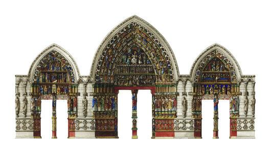 portali della cattedrale di Amiens