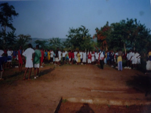 camp d´entraînement Examen sportif 2008
