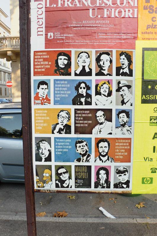 """Manifesto mostra """"L'invasione degli ultravolti"""""""