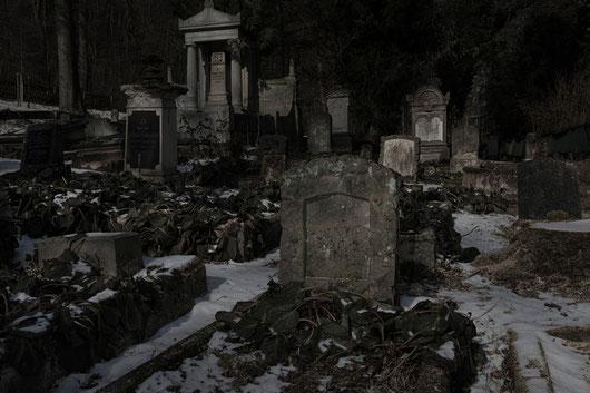 Jüdischer Friedhof, Sondershausen, Vollmond