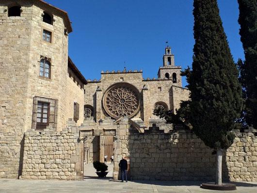 Монастыри Каталонии - Сант Кугат дель Вальес