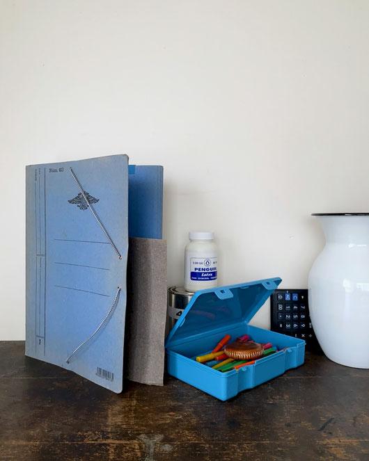 ペンコ ストレージコンテナー ライトブルー|penco Storage Container Light Blue
