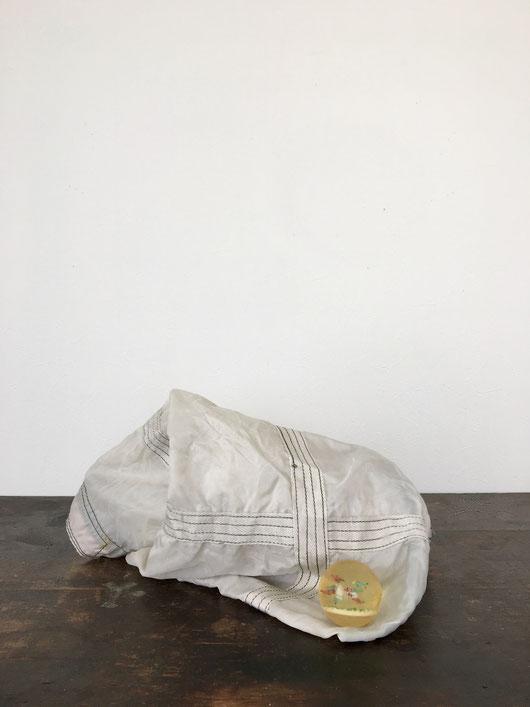 プエブコ ヴィンテージ パラシュートバッグ|PUEBCO Vintage Parachute Light Bag White