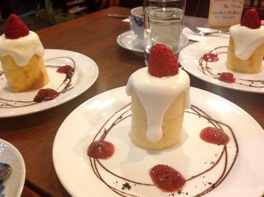クリスマス展限定 キャンドルケーキ