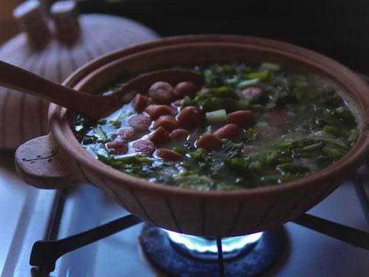 ポルトガルのスープ「カルド・ヴェルデ」