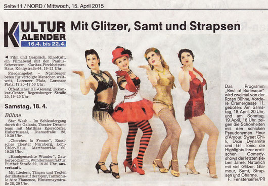 Nürnberger Nachrichten, 15.04.2015