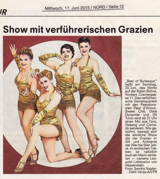 Nürnberger Nachrichten, 17.06.2015