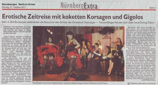 Nürnberger Nachrichten, 31.10.11