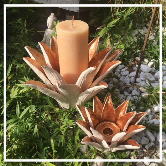 Kerzenständer & Kerzenhalter aus Keramik - von Kiddee Tamdee