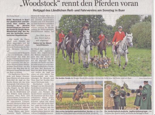 Im Meller Kreisblatt erschienen am 01.09.2014