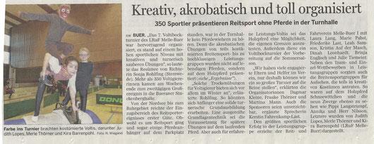 Im Meller Kreisblatt erschienen am 20.02.2014