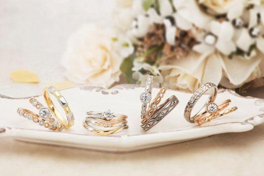 婚約指輪 結婚指輪 セットリング