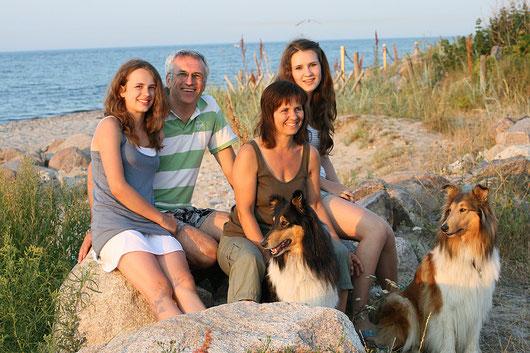 Am Strand von Fehmarn Sommer 2010